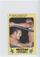 Bruno Sammartino, Killer Kowalski