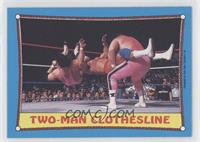 Two-Man Clothesline
