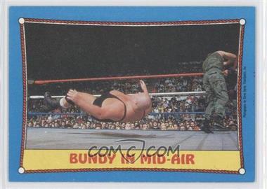 1987 Topps WWF - [Base] #42 - King Kong Bundy