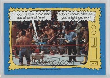 1987 Topps WWF - [Base] #74 - Matilda, Davey Boy Smith