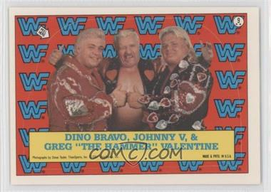 1987 Topps WWF Stickers #9 - [Missing]