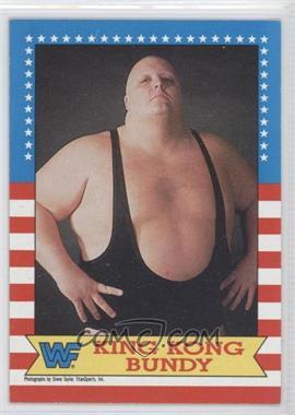 1987 Topps WWF #15 - King Kong Bundy
