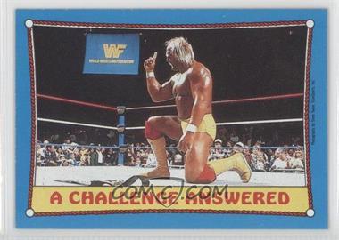 1987 Topps WWF #36 - Hulk Hogan
