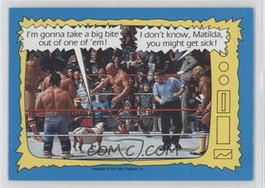1987 Topps WWF #74 - [Missing]