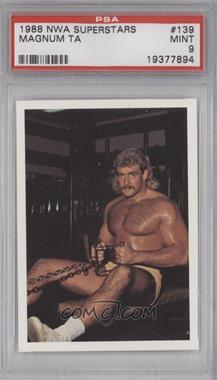1988 Wonderama NWA - [Base] #139 - Magnum TA [PSA9]