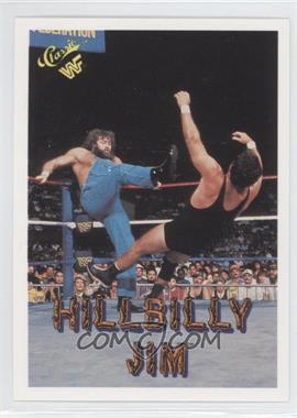 1990 Classic WWF - [Base] #40 - Hillbilly Jim