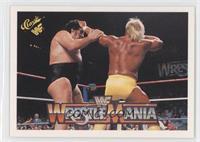 Wrestlemania IV (Hulk Hogan, Andre the Giant)