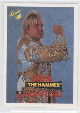 "1990 Classic WWF #33 - Greg ""The Hammer"" Valentine"