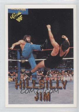 1990 Classic WWF #40 - Hillbilly Jim