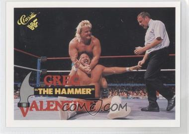"1990 Classic WWF #86 - Greg ""The Hammer"" Valentine"