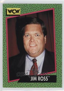 1991 Impel WCW - [Base] #154 - Jim Ross