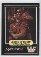 Leigion Of Doom (Hawk and Animal)