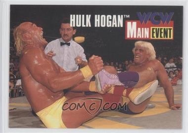 1995 CARDZ WCW Main Event Promos #2 - Hulk Hogan, Ric Flair
