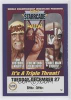 Starcade 1994 (Hulk Hogan, Vader, Sting)