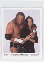 Triple H w/Stephanie McMahon-Helmsley