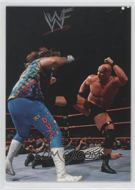 1998 Comic Images WWF Superstarz #4 - Steve Austin, Dude Love