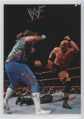 1998 Comic Images WWF Superstarz #4 - Steve Austin, Dude Love