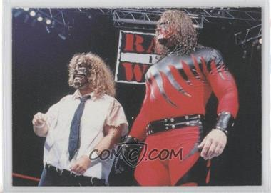 1998 Comic Images WWF Superstarz #54 - Kane, Mankind