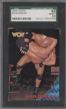 1998 Topps WCW/nWo - [Base] #09 - Goldberg [SGC 92]