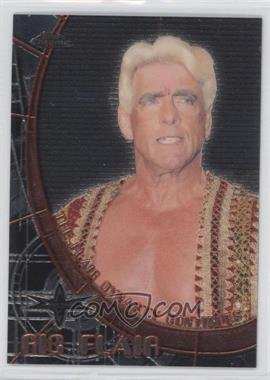 1999 Topps WCW Embossed - Chrome Double-Sided #N/A - David Flair, Ric Flair