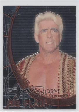 1999 Topps WCW Embossed Chrome Double-Sided #N/A - David Flair, Ric Flair