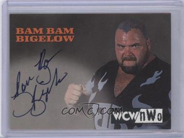1999 Topps WCW/nWo Nitro Authentic Signatures #BBBI - Bam Bam Bigelow