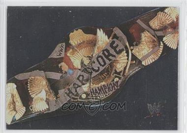 2000 Comic Images WWF No Mercy #31 - Hardcore Title Belt