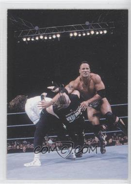 2000 Comic Images WWF Rock Solid [???] #66 - The Rock