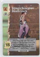 Sting's Scorpion Death Lock