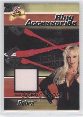2001 FLeer WWF The Ultimate Diva Collection - Ring Accessories #DE - Debra