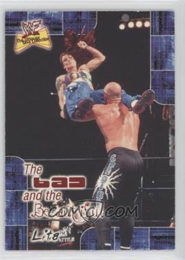 2001 FLeer WWF The Ultimate Diva Collection [???] #5BB - Lita