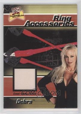 2001 FLeer WWF The Ultimate Diva Collection Ring Accessories #N/A - Debra