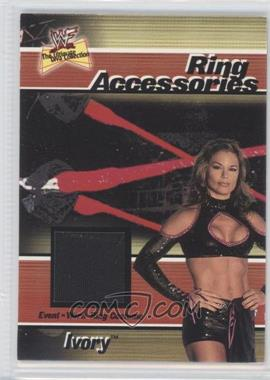 2001 FLeer WWF The Ultimate Diva Collection Ring Accessories #N/A - Ivory