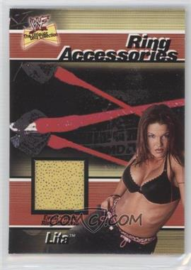2001 FLeer WWF The Ultimate Diva Collection Ring Accessories #N/A - Lita