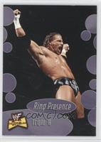Ring Presence - Triple H