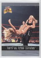 Terri vs. Trish Stratus
