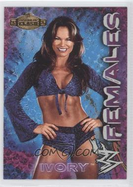 2001 Fleer WWE Championship Clash - Females #1 - Ivory