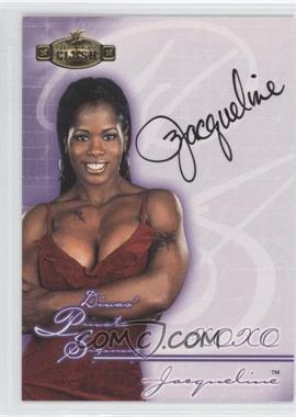 2001 Fleer WWE Championship Clash Divas Private Signings #DPS-N/A - Jacqueline