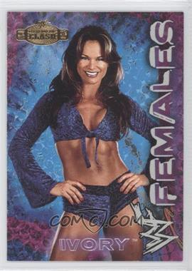 2001 Fleer WWE Championship Clash Females #1 - Ivory