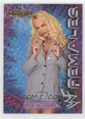 2001 Fleer WWE Championship Clash Females #5 - Debra