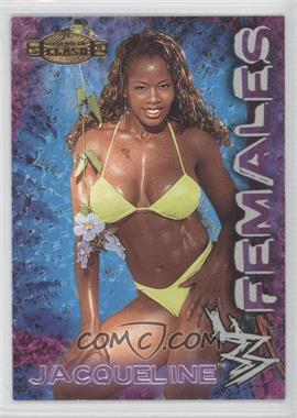 2001 Fleer WWE Championship Clash Females #8 - Jacqueline