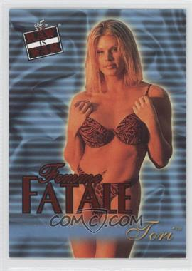 2001 Fleer WWF Raw is War - Femme Fatale #10FF - Tori