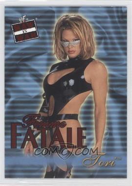 2001 Fleer WWF Raw is War - Femme Fatale #15FF - Tori