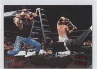 The Hardy Boyz vs. The Dudley Boyz vs. Edge & Christian