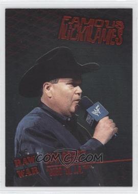 2001 Fleer WWF Raw is War [???] #13 - Jim Ross