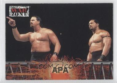 2001 Fleer WWF Raw is War [???] #51 - APA