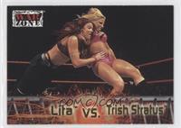 Lita vs. Trish Stratus