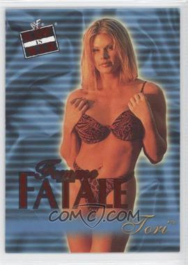 2001 Fleer WWF Raw is War Femme Fatale #10FF - Tori