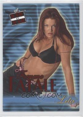2001 Fleer WWF Raw is War Femme Fatale #14FF - Lita