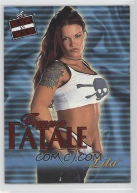 2001 Fleer WWF Raw is War Femme Fatale #19FF - Lita